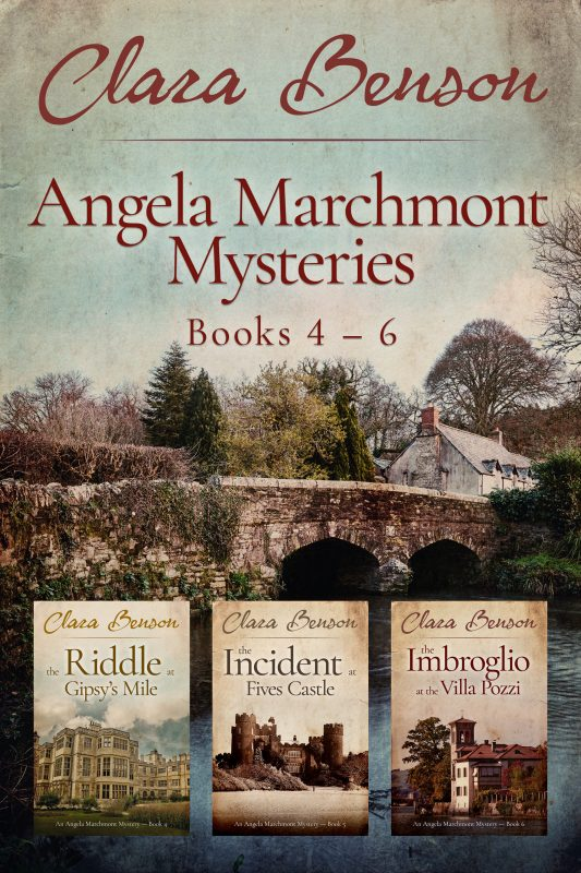 Angela Marchmont Mysteries Books 4-6