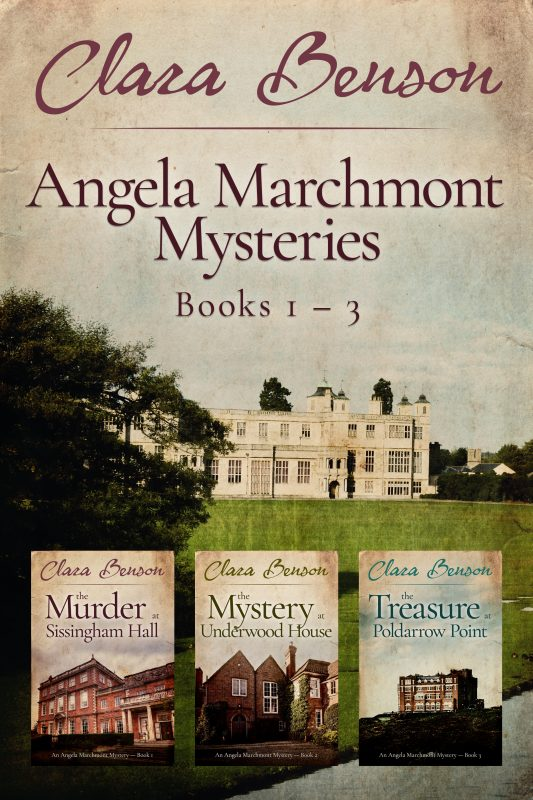 Angela Marchmont Mysteries Books 1-3
