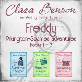 Freddy Pilkington-Soames Adventures Vol. 1 audiobook by Clara Benson